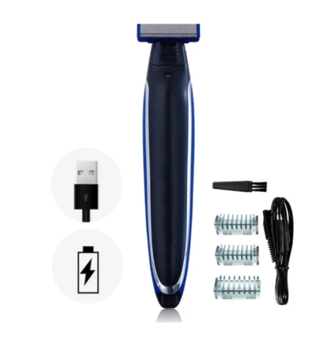 RECHARGEABLE 3 IN 1 TRIM SHAVER ROMANTIC GIFT FOR BOYFRIEND