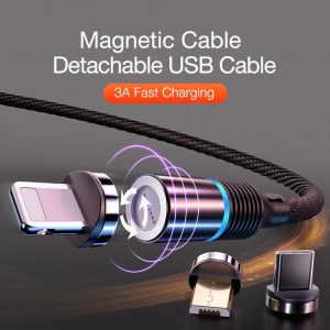 volta charger review - magnetic charging cable