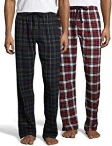 hanes mens flannel pajama pants