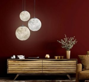 Hanging Moon Lamp