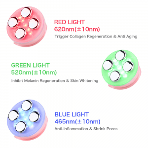 led skin tightening device side effects