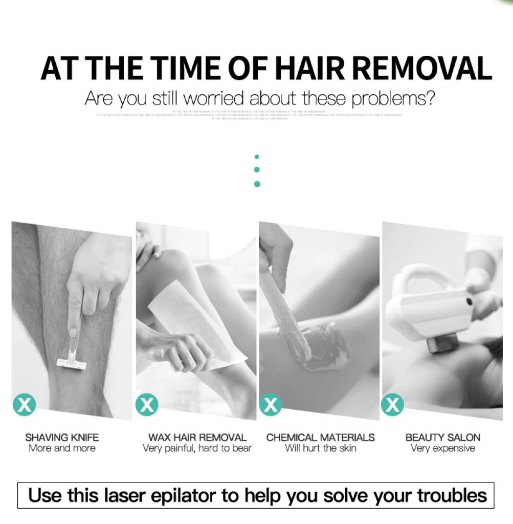 Silky skin laser hair removal