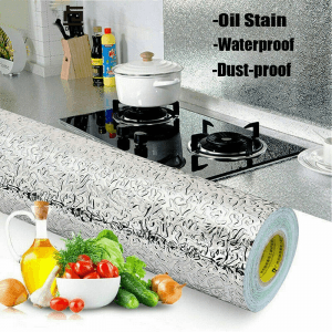 kitchen oil proof wallpaper