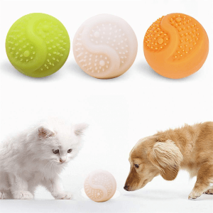 automatic rolling ball dog toy