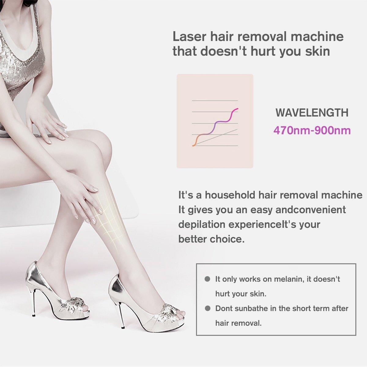 36W Professional IPL Epilator Laser Hair Removal