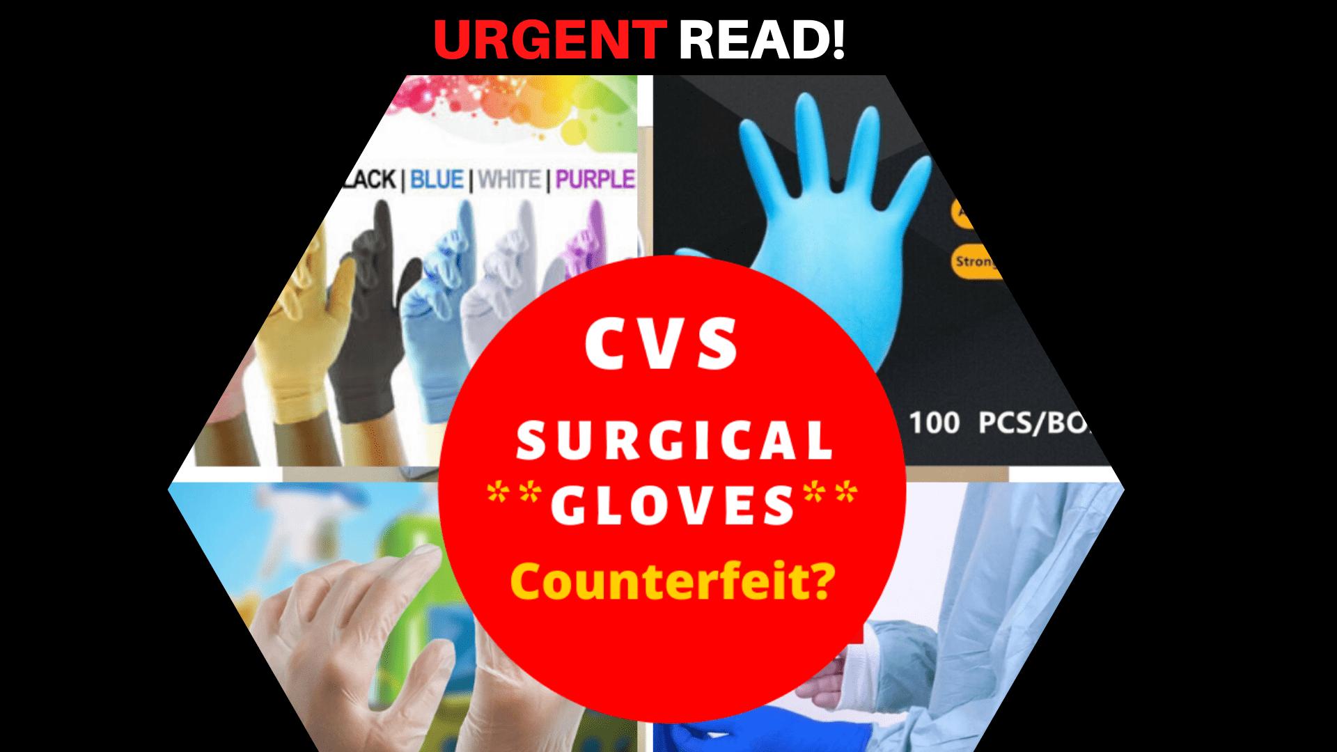 CVS Surgical GloveS