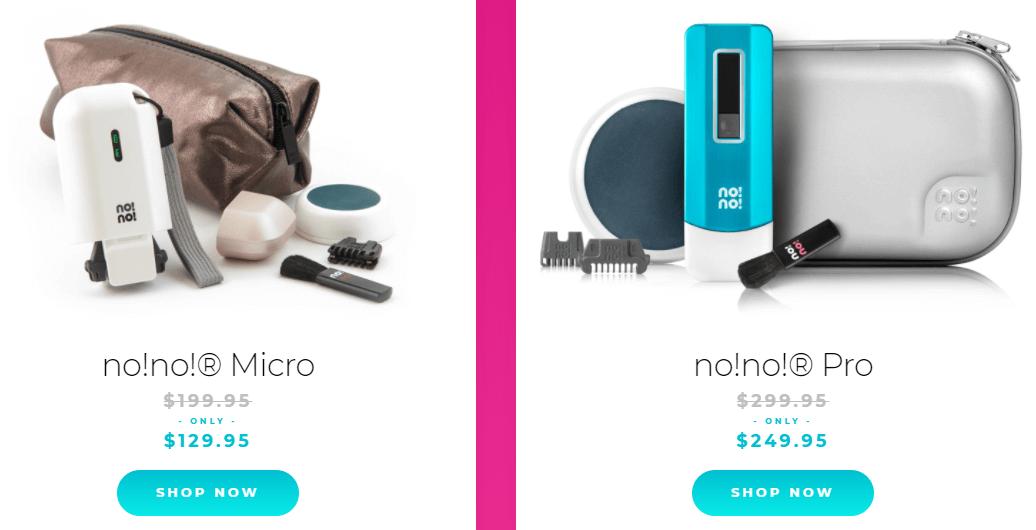 nono hair removal price