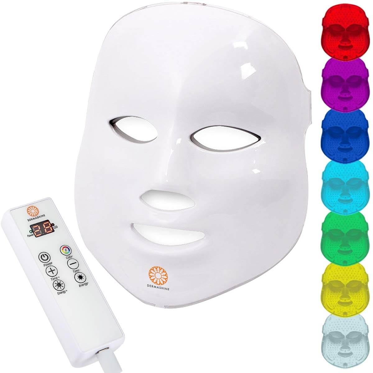 Dermashine Pro 7 - At home Therrapy Led mask Facial Kit