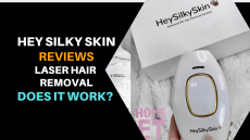 Hey Silky Skin review- Laser hair Removal. Does it Work?