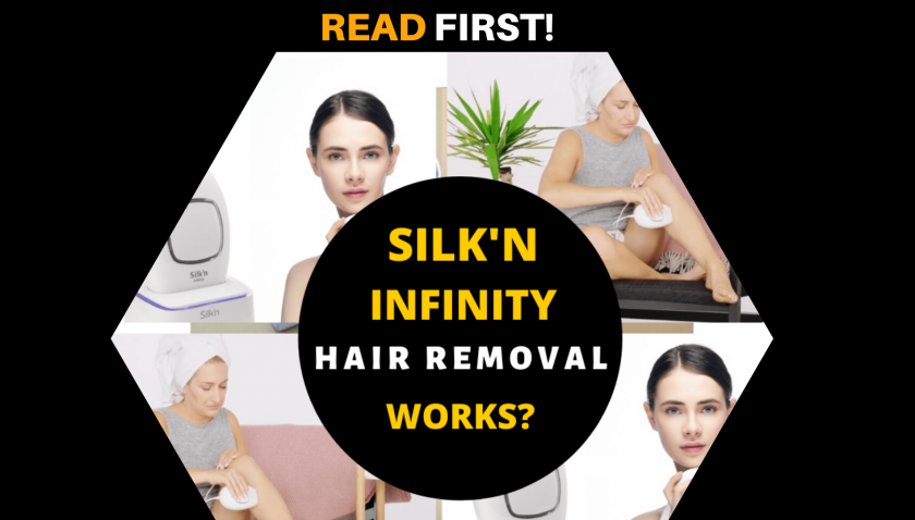 Silk'n Infinity Hair Removal 40000 – Don't get Fooled! Does it Work?
